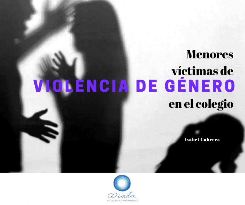 Menores víctimas de violencia de género en el colegio